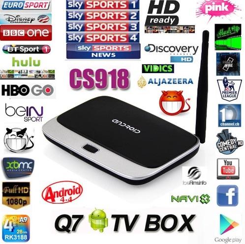 Android TV Box Mini PC Q7